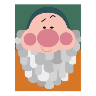 Seven Dwarfs - Bashful Character Body Postcard