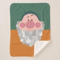 Seven Dwarfs - Bashful Character Body Sherpa Blanket