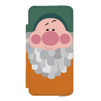 Seven Dwarfs - Bashful Character Body Wallet Case For iPhone SE/5/5s