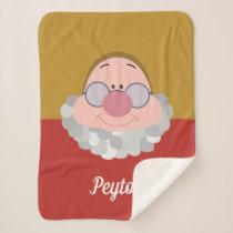 Seven Dwarfs - Doc Character | Name Sherpa Blanket