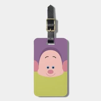 Seven Dwarfs - Dopey Character Body Luggage Tag