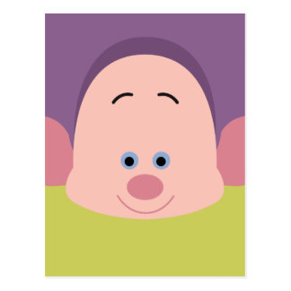 Seven Dwarfs - Dopey Character Body Postcard