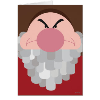 Seven Dwarfs - Grumpy Character Body Card