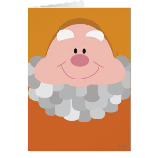 Seven Dwarfs - Happy Character Body Card