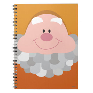 Seven Dwarfs - Happy Character Body Spiral Notebook