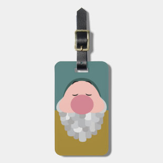 Seven Dwarfs - Sleepy Character Body Bag Tag
