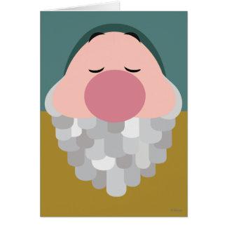 Seven Dwarfs - Sleepy Character Body Card
