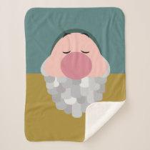 Seven Dwarfs - Sleepy Character Body Sherpa Blanket