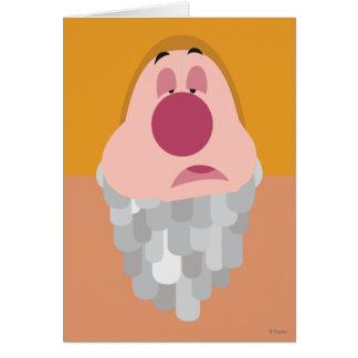Seven Dwarfs - Sneezy Character Body Card