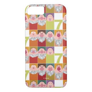 Seven Dwarfs Stylized Character Art iPhone 8/7 Case