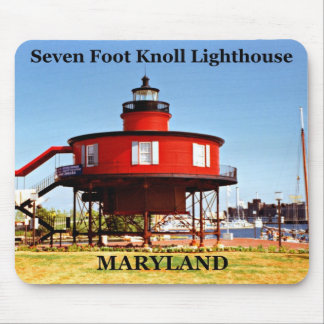 Seven Foot Knoll Lighthouse, Maryland Mousepad
