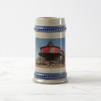 Seven Foot Knoll Lighthouse Stein 18 Oz Beer Stein