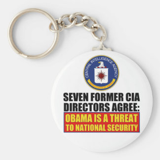 Seven Former CIA Directors Basic Round Button Keychain