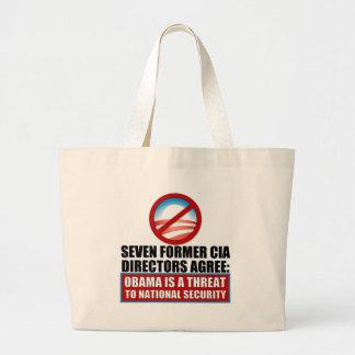 Seven Former CIA Directors Canvas Bag