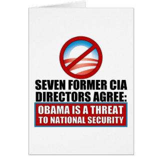 Seven Former CIA Directors Card