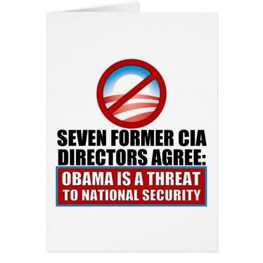 Seven Former CIA Directors Greeting Card