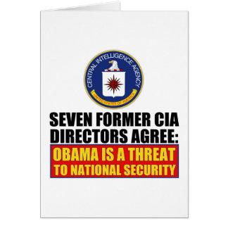 Seven Former CIA Directors Greeting Cards