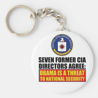 Seven Former CIA Directors Keychains