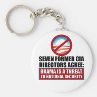 Seven Former CIA Directors Keychain