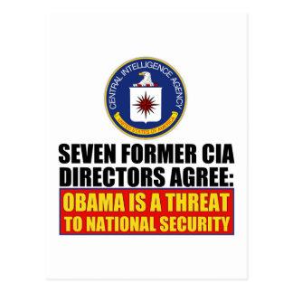 Seven Former CIA Directors Postcard