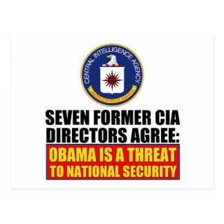 Seven Former CIA Directors Postcards
