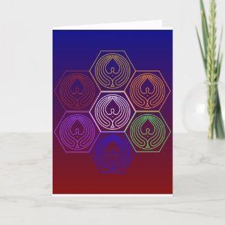 SEVEN HEXAGON - DESIGN 5 - MASTERY - CARD