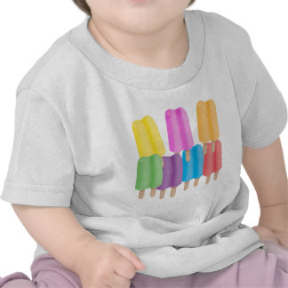 Seven Ice Pops Tee Shirts