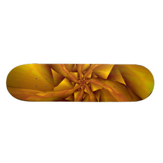 Seven into One in Yellow Skateboard