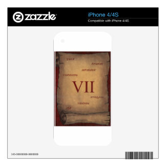 Seven iPhone 4 Decal