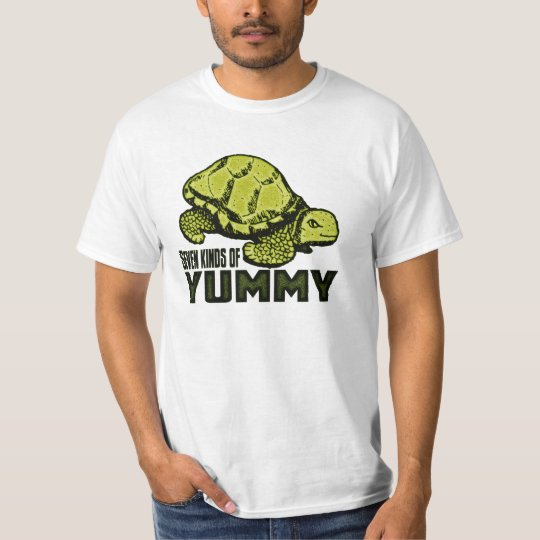 Seven Kinds of Meat in a Turtle T-Shirt