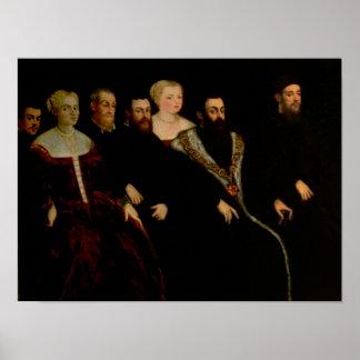 Seven members of the Soranzo Family Poster