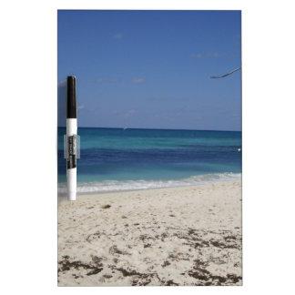 Seven Mile Beach Dry-Erase Board
