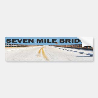 Seven Mile Bridge Bumper Sticker