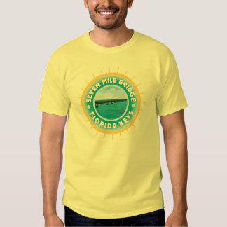 Seven Mile Bridge Florida Keys T-shirts