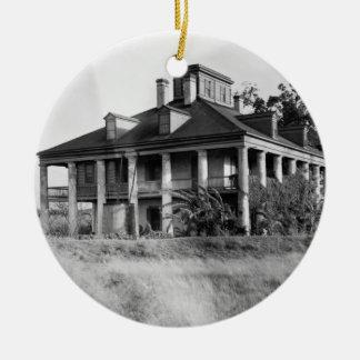Seven Oaks Plantation, Westwego LA Ornament