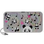 Seven Pandas Doodle Mini Speaker