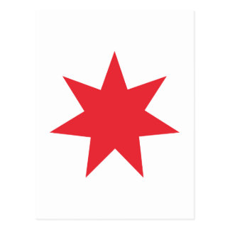 Seven Pointed Star Postcard