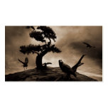 Seven Ravens Double-Sided Standard Business Cards (Pack Of 100)
