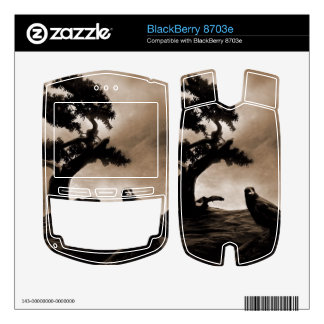 Seven Ravens Skin For BlackBerry 8703e