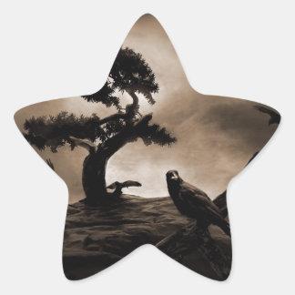 Seven Ravens Star Sticker