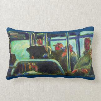 Seven Riders Throw Pillows