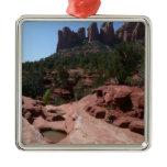 Seven Sacred Pools in Sedona Arizona Metal Ornament