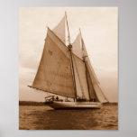 Seven Sails on the Salish Sea Poster