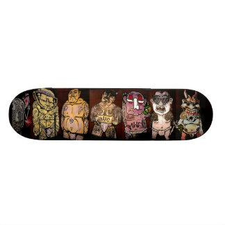 Seven Samurai - Street Sk8 Art Skateboard Deck