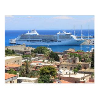Seven Seas Mariner at Rhodes Postcard