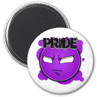 Seven Sins Faces - Pride Magnet