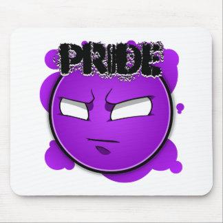 Seven Sins Faces - Pride Mouse Pad