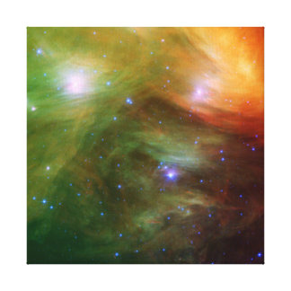 Seven Sisters Pleiades Stars Space Stretched Canvas Prints
