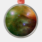 Seven Sisters Pleiades Stars Space Metal Ornament