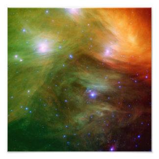 Seven Sisters Pleiades Stars Space Photo Print